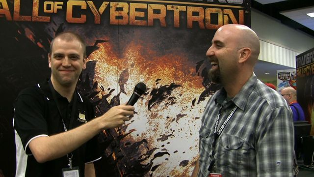 Transformers: Fall of Cybertron with Matt Tieger at BotCon 2012